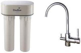 Doulton Duo Nitrate 3079 - Purificador de agua con grifo mezclador ...