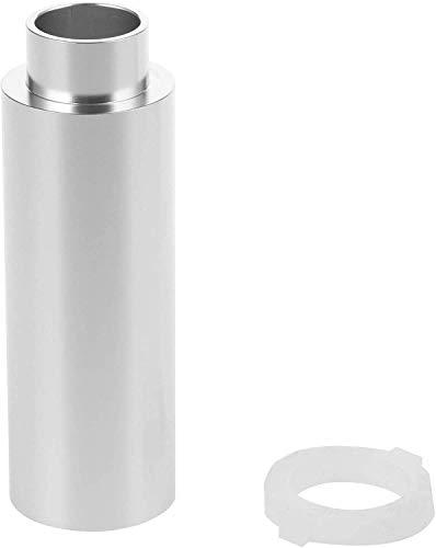 WORKER Bomba de aire de aluminio mejorada para Nerf Retaliator & Worker Prophecy Blaster, color plateado