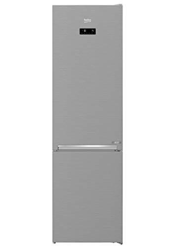 Beko RCNA406E60XBN Independiente Frigorífico y congelador NoFrost/Smooth Fit: apertura de puerta de 90 grados, clase energética C