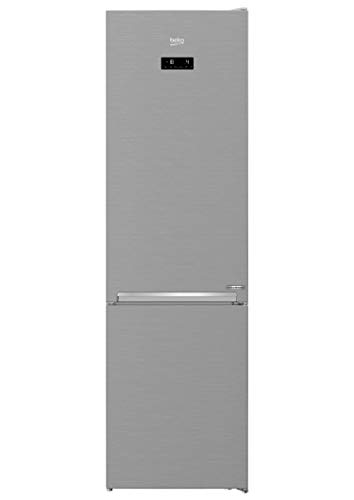 Beko RCSA406K40XBN freistehende Kühl-Gefrierkombination/ 3 Gefrierschubladen/ 38 dB/Edelstahllook