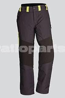 Schnittschutzlatzhose verde protección de corte pantalones talla 58 forsthose motosierra