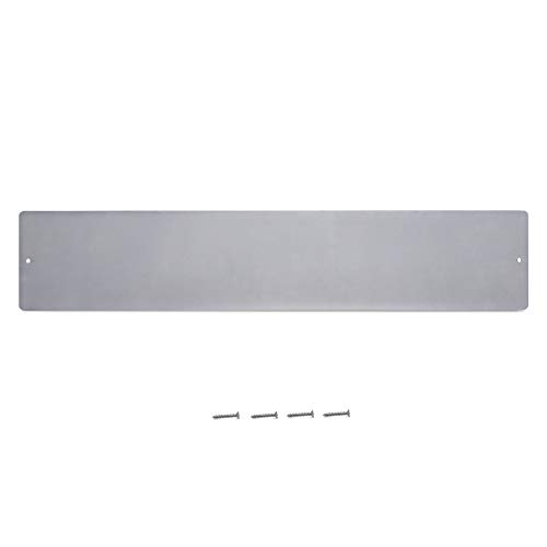 Navaris Magnettafel Magnetboard aus Metall - 10 x 50 x 0,1 cm Magnet Tafel zum Beschriften - Magnetwand inkl. Schrauben zur Befestigung