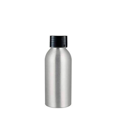 Botellas vacías de aluminio Bodhi2000, contenedor de calcomanías rellenables para champú, lociones, jabón corporal líquido, cremas