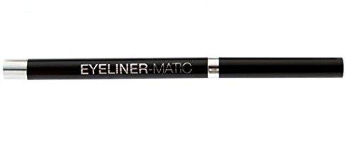 Maybelline New York Jade Eyeliner Matic Kajal Black 21 / herausdrehbarer Kohl-Kajal Schwarz (präziser Lidstrich, leichte Anwendung) mit integriertem Spitzer, dermatologisch getestet, 1 x 3 g
