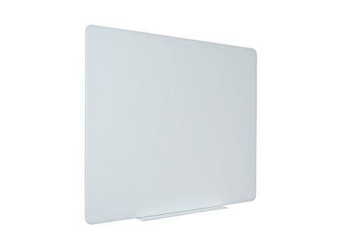 Bi-Office Glas Whiteboard, magnetisch, rahmenlos, 120 x 90 cm