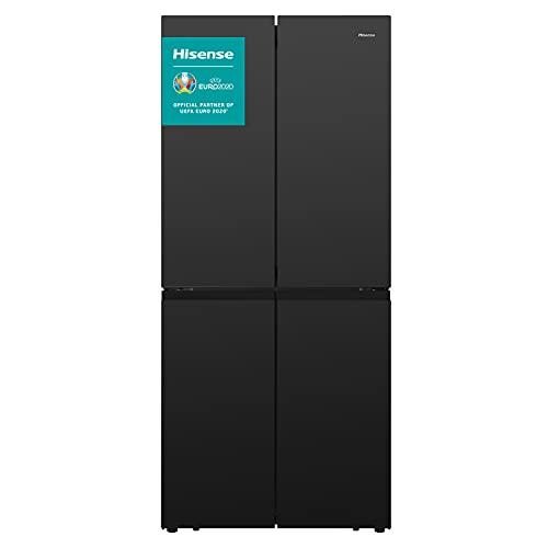 Hisense RQ563N4GB1 Frigorífico Cross Door Negro