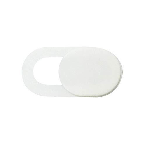 1PCS Metal Forma Oval Mini WebCam Cubierta Obturador Imán Slider Cámara Cubierta