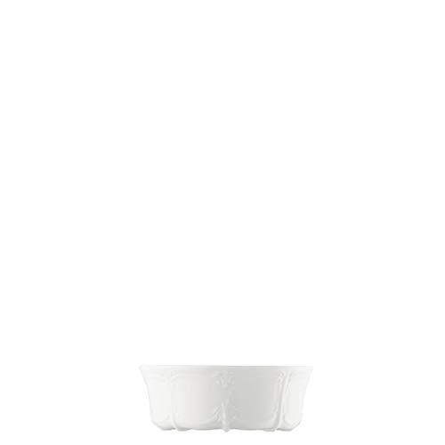 Hutschenreuther Baronesse Dessertschale, Salatschale, Estelle Weiß, Porzellan, 13 cm, 10513