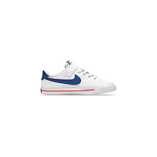 Nike Court Legacy (GS) - Scarpe da bambino - sintetiche Bianco Size: 34 EU