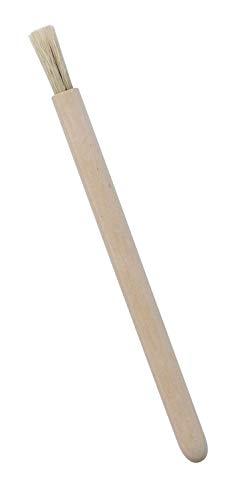 Kreul Pincel Natural de cerdas de Madera de Abedul sin Tratar y sin alicates, compostable, marrón, talla única