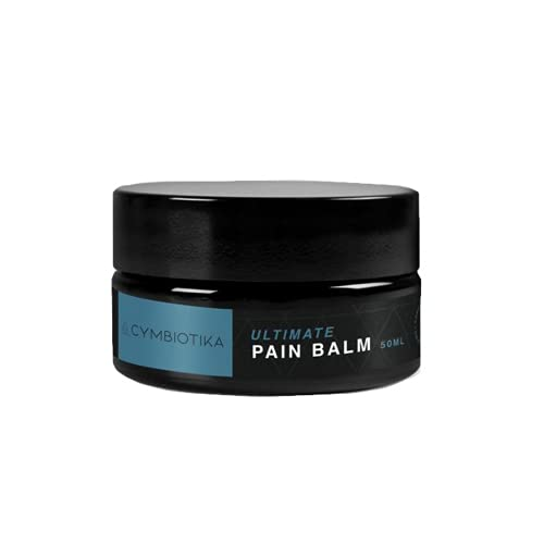 Cymbiotika Ultimate Pain Balm - Powerful Healing & Recovery, Long Lasting, Fast Acting Relief for Sore Muscles, Whole-Body, Back, Foot, Joints, Knee, Ankle, Shoulder & Pinched Neck Nerves - 50 ml