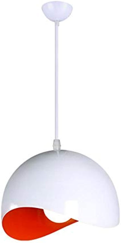 TOYM- Nordic Bar Kreative Persnlichkeit modernen minimalistischen Esszimmer einzigen Kopf Kronleuchter ( farbe   Rot )