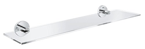 GROHE Essentials Glasablage 530 mm, glas/supersteel , 40799DC1