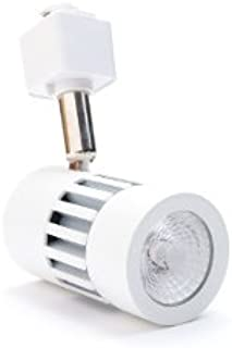 Excite 8W LED Track Light Head for Halo Track Systems - Decorate Your Home or Business Space - Dimmable - Warm Light- 3000K (White)