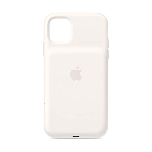 Apple Funda Smart Battery Case de Carga inalámbrica (para el iPhone 11), Blanco