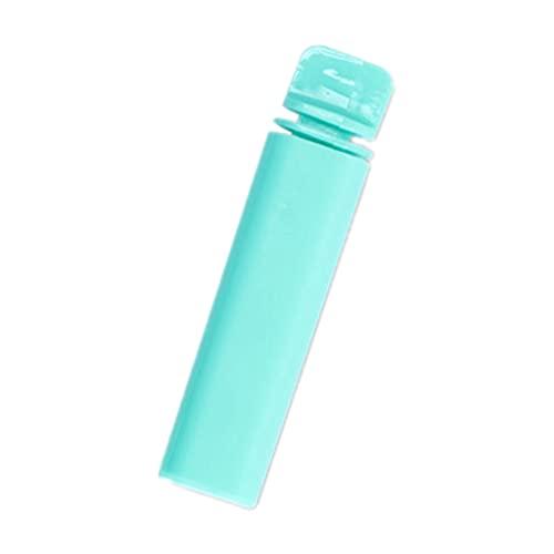 Gergxi Cepillo de dientes, carbón de bambú plegable viaje camping al aire libre cepillo de dientes cuidado oral, negro, gris, verde