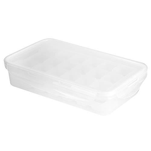 Liujaos Molde de Hielo para el hogar, Molde para Cubitos de Hielo para el hogar Material de PP de Calidad alimentaria Conveniente para Sacar Cubitos de Hielo para la Cocina para el hogar