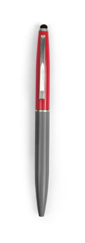 Kikkerland Retro Pen and Stylus, Assorted Colors (US40-A)