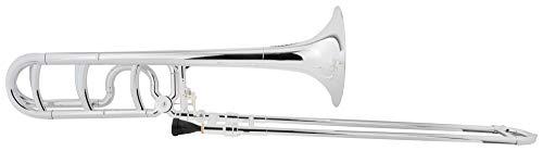 Classic Cantabile MardiBrass Tenore Trombone Sib/Fa in plastica argento