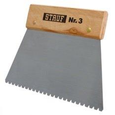 Stauf ® Zahnspachtel 3 - Spachtel zum Verkleben von Bodenbelägen