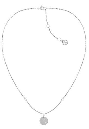 Tommy Hilfiger Jewelry Damesketting met hanger en roestvrij staal