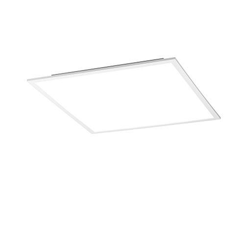 LED Panel flach, 45x45, LED Decken-Lampe Neutralweiss - Tageslichtweiss | Deckenleuchte für Büro, Küche, Badezimmer und Wohnzimmer