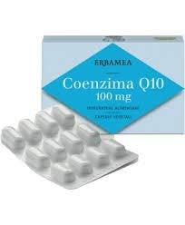 Erbamea Coenzima Q10 100 Mg 24 Capsule 12 G