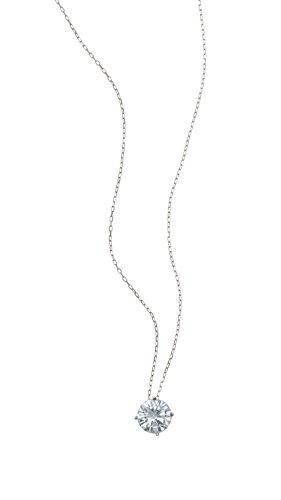 Kette Damen 925 Sterling Silber Halskette rhodiniert mit Zirkonia Kristall Feine Ankerkette exquisite Geschenk-Box Geburtstag Geschenk für Frauen Freundin Mutter