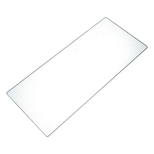 Zanussi 224908704 2249087046 - Coperchio in vetro per vano verdure, frigo e frigo, adatto anche per Electrolux AEG Rex
