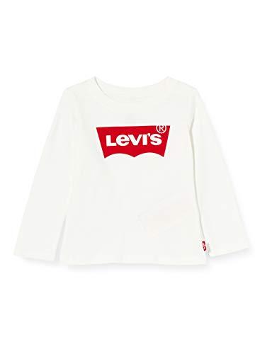 Levi s Kids Lvg L S Batwing Tee T-shirt Bimba 0-24 White 24 mesi