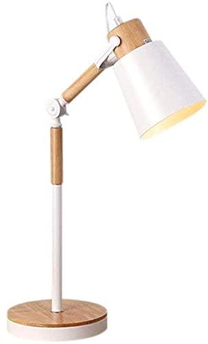 KFJZGZZ Lámparas de Estudio Lámpara de Mesa Lámpara de Escritorio Lámpara de Lectura Nórdica Escritorio Lámpara Creativa Nórdica Personalidad Lectura Ajustable Lámpara de mesita de Noche