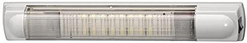 HELLA 2JA 007 373-151 Éclairage intérieur - LED - 12/24V - 3,5W - LED - Montage en saillie - Couleur LED: blanc