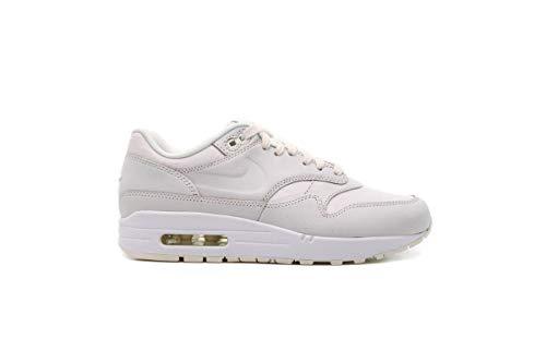 Nike Air Max 1 - Zapatillas de pista de atltismo para mujer, (Los blancos.), 40.5 EU
