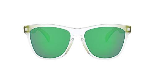 Oakley Unisex's Frogskins (A) 92455354 Sunglasses, Transparent Green/Green...