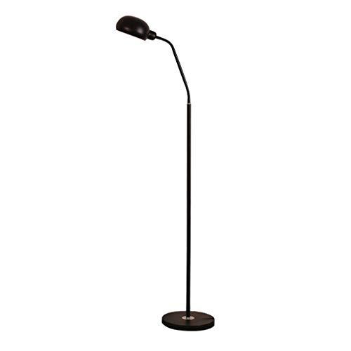 WXH 56 inch moderne vloerlampen, E27 flexibele zwanenhals staande leeslamp voor woonkamer, stoel, bank, kantoortaak (geen lamp)
