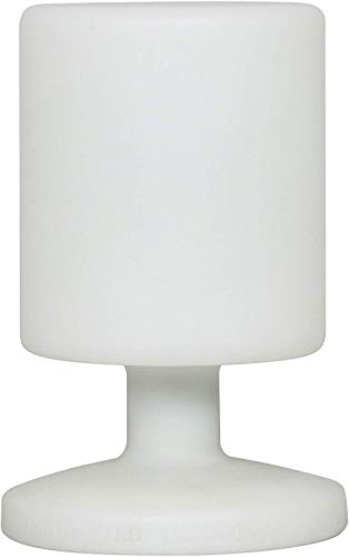Ranex 5000.472 Led Lampada da Tavolo Ricaricabile 5 W, Bianca, 17 x 25.5 cm