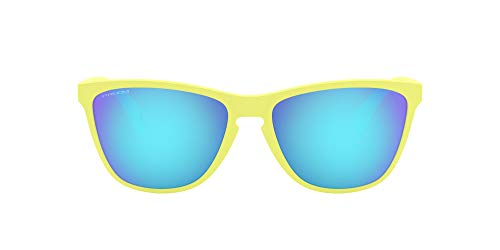 Oakley Frogskins 35th Gafas, Matte Neon Yellow, 57 Unisex Adulto
