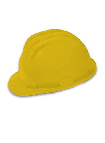 Schutzhelm Gelb Bauhelm Helm Baustelle Bauschutzhelm Baustellenhelm