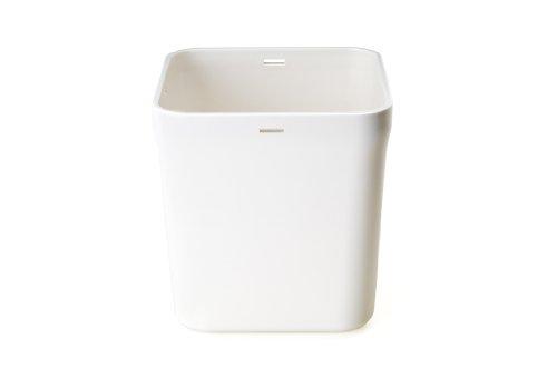 Kitchen Safe: bases de repuesto (mediano, color blanco sólido)