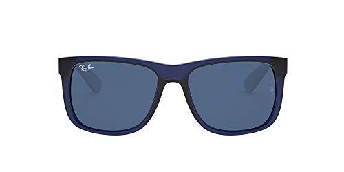 Ray-Ban Gafas, Caucho Azul Transparente, 51 Unisex Adulto