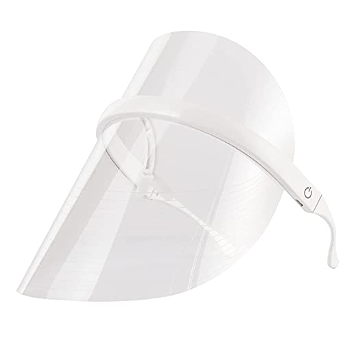 Terapia de 3 colores Tratamiento del acné Máscara de luz LED Máscara facial de belleza con luz LED con luz roja / azul / naranja para reducir los poros, tratamiento de la piel de la cara