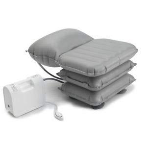Aufblasbar Mangar Badekissen mit Airflo Batterieverdichter | Neueste Modell