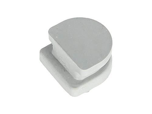 KOWALIT Verschlußstopfen ohne Bohrung, Gummi, grau - Simson S51, KR51/2 Schwalbe, SR50, S53, S70, S83, SR80