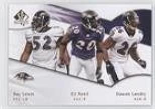 Dawan Landry; Ed Reed; Ray Lewis (Football Card) 2009 SP Authentic - [Base] #188