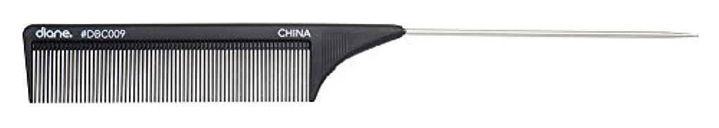 ぼかしエレガントあいまいさDiane Carbon Cutting Comb, 8 1/2 Inch [並行輸入品]