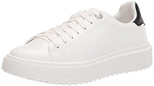 Steve Madden Women's Charlie Sneaker, White, 10