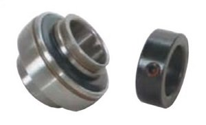 "HC214-44 Bearing Insert 2 3/4"" Inch Mounted Ball Bearings"