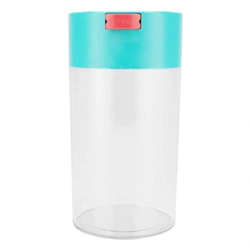 Tarro de Almacenamiento Les-Theresa de plástico Sellado al vacío para la Cocina Recipiente de Alimentos para Granos de café, té y goo seco (小号)