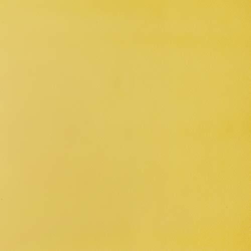 Venilia Klebefolie Uni Matt Curry, Dekofolie, Möbelfolie, Tapeten, selbstklebende Folie, PVC, ohne Phthalate, gelb, 45cm x 2m, 160µm (Stärke: 0,16mm), 54359, 45 cm x 2 m