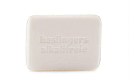 Haslinger Alkalifreie Pflanzenöl Seife mit Molke und Honig unparfümiert und ungefärbt 100 g